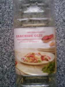 Arachide olie (pinda olie)